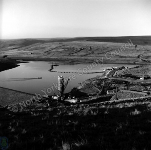 Grimwith Reservoir, Under Construction
